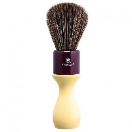 VieLong Natural Long Handle Shaving Brush