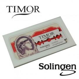 Caja Cuchillas de afeitar Timor Original - Giesen & Forsthoff 10 Hojas