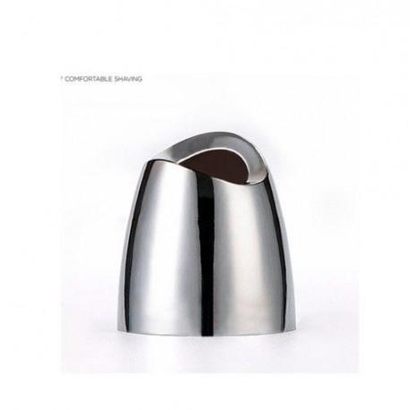 Soporte Brocha y Maquinilla Inox.16x10 cm