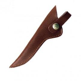 Scissors Cover dark brown 16cm.