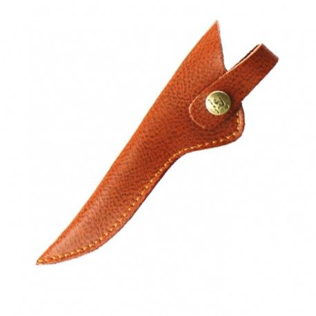 Scissors Case 16cm. Brown.