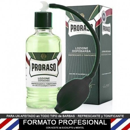 Proraso PROFESSIONAL After Shave Lotion 400ml + Spray