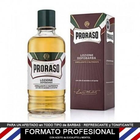 After Shave locion Sandalo de Proraso PROFESIONAL 400ml