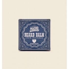 MACHO Natural beard balm 45g