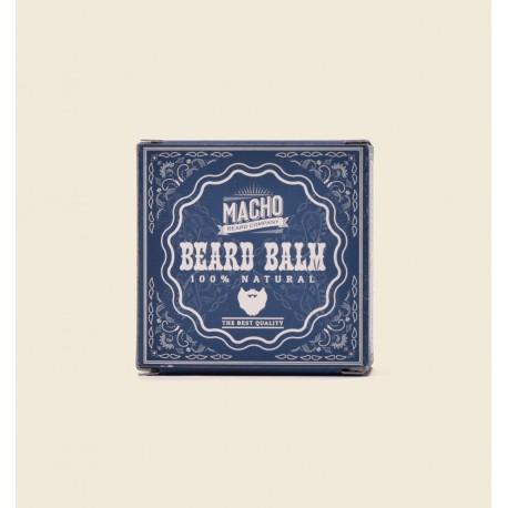 MACHO Natural beard balm 45g