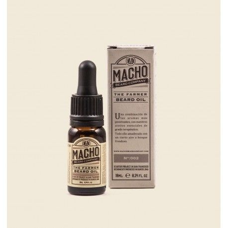 MACHO O óleo de barba do agricultor