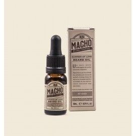 MACHO Aceite para barba san francisco,