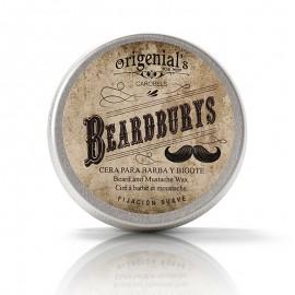 Cera para barba y bigote Fijación Suave 50g de Beardburys