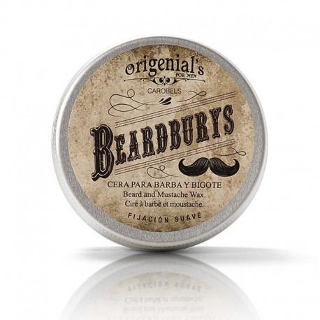 Cera Wax para barba y bigote Fijación Suave 50g