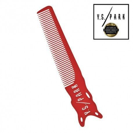 YS PARK 209 Comb BARBER Red 205mm