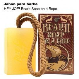 HEY JOE! Beard Soap on a Rope - Jabón para Barba