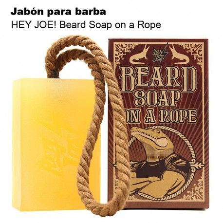 HEY JOE! Beard Soap on a Rope