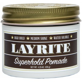 Layrite Superhold Pomade 120g - Hair Setting Ointment