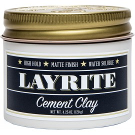 Layrite Cement Clay Pomade 120g - Hair Fixing Wax