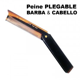 BARBER LINE FOLDING BEARD AND HAIR COMB
