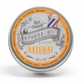 Cera para cabello Natural Beardburys 100ml - Cera para el pelo