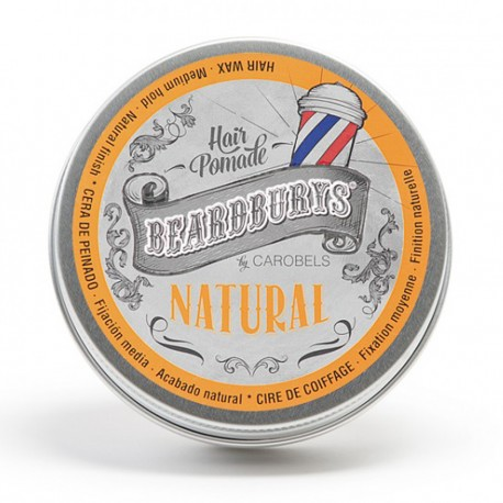 Natural Beardburys Hair Wax 100ml - Hair Wax