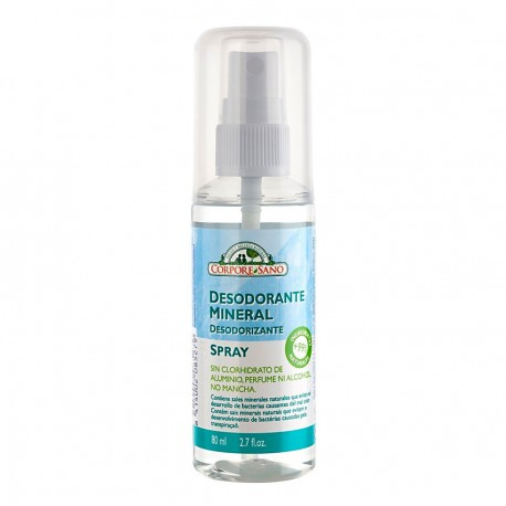 Mineral Alum Deodorant Spray 80ml - Barberius Cosmetics for Men