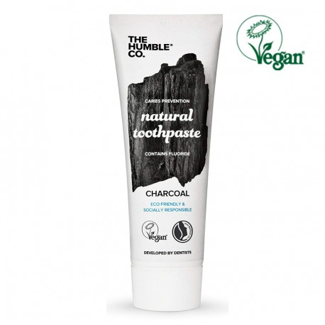 Natural Charcoal Toothpaste with Fluor 75ml