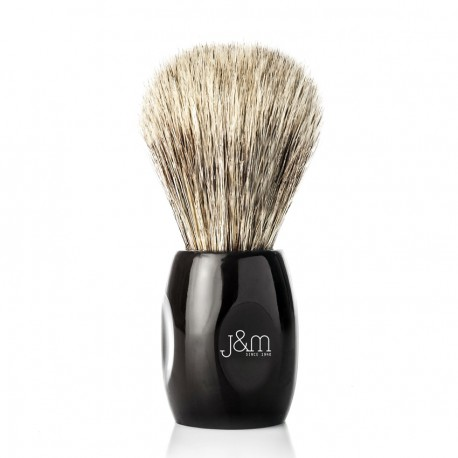 JM Grey Horsehair Handmade Brush