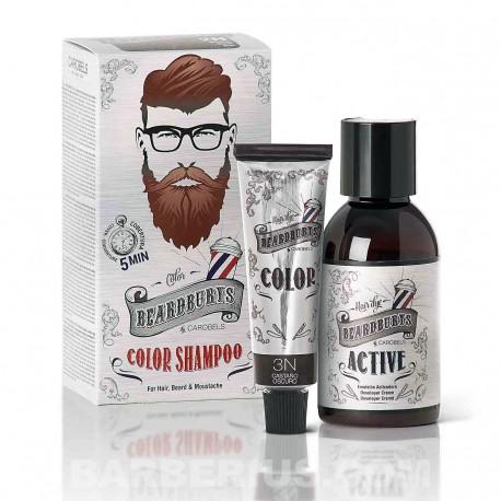 Tinte para Barba 3N - Castaño Oscuro - Beardburys Sin Amoniaco