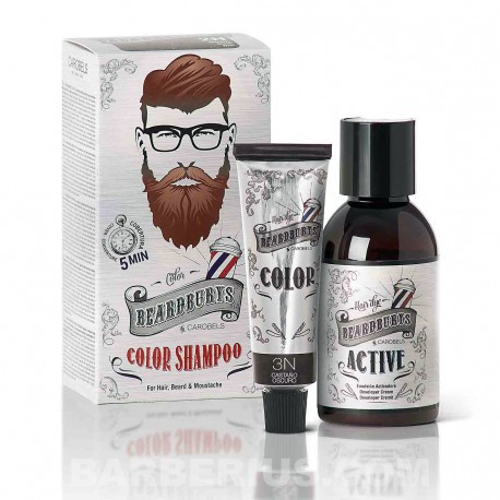 Tinte para Barba - Champú de Color - Moreno