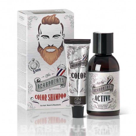 Tinte para Barba - Castaño Claro - Beardburys Sin Amoniaco