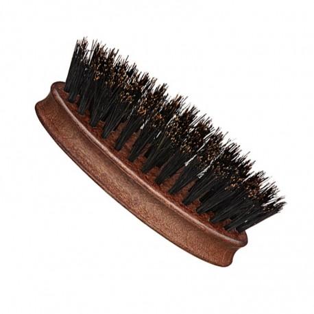 Oval Wooden Brush for All Types of Beards 8cm