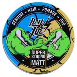 Hey Joe Pomade DUO - Extreme Shine Fixation with Medium Matt Fixation 50 + 50 ml - Super Strong and Matt