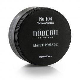 Pomada Mate para el pelo Tabaco Vainilla de Noberu 80g