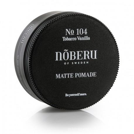 Pomada Mate para el pelo Tobaco Vainilla de Noberu 80g