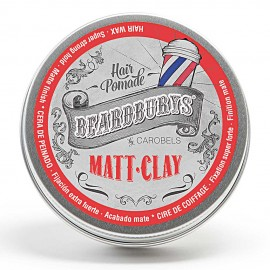 Beardburys MATT CLAY Very Strong Fixation Hair Wax