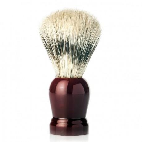 Bordeaux Natural Bristle Shaving Brush