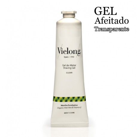 Organic Aloe Vera Clear Shaving Gel - Vitamin E 100ml