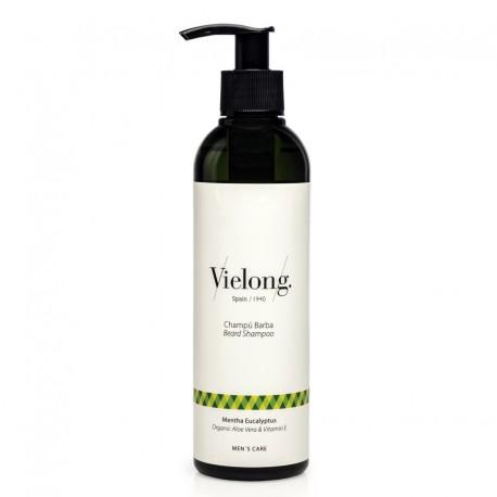 Organic Aloe Vera and Vitamin E Beard Shampoo 250ml
