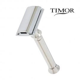 Maquinilla TIMOR de Afeitar de peine cerrado con 10 hojas Timor de Regalo