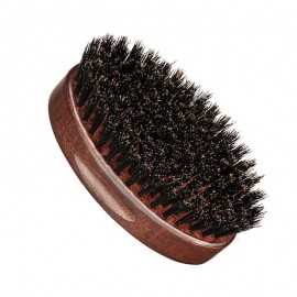 Wooden Oval Beard Brush 10 cm
