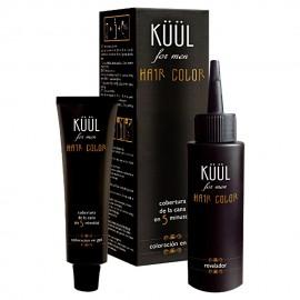 Tinte para Barba - Sin Amoniaco Hair Color For Men - Para barba Gris - G3 con Ácido Hialurónico Kuul