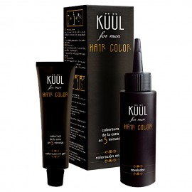 Tinte para Hombre Sin Amoniaco Hair Color For Men - Para Cabello Gris - G3
