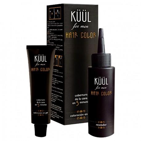 Tinte para Cabello y Barba - Sin Amoniaco Hair Color For Men - Para Cabello Gris - G3 con Ácido Hialurónico