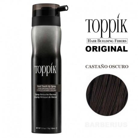 TOPPIK SPRAY CASTAÑO OSCURO 98ml.