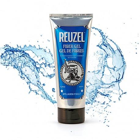 Gel en fibras de Reuzel Pomade 100ml - Fijador Suave para el pelo