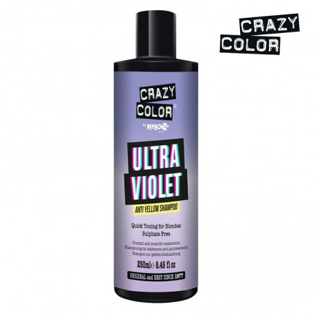 CRAZY COLOR Ultra Violet Anti Yellow Shampoo - 250ml