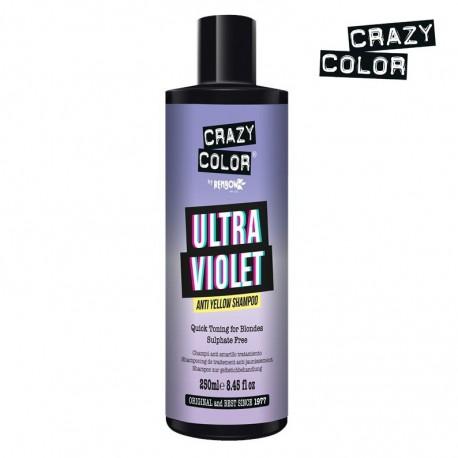 CRAZY COLOR Champú Anti Amarillo - Anti Yellow Shampoo