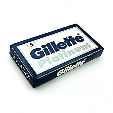 GILLETTE Platinum 5-Blade Razor Blade Box