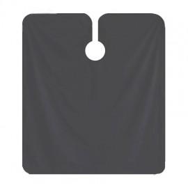 Capa de Corte Gris marengo Rayas - Abotonada con corchetas