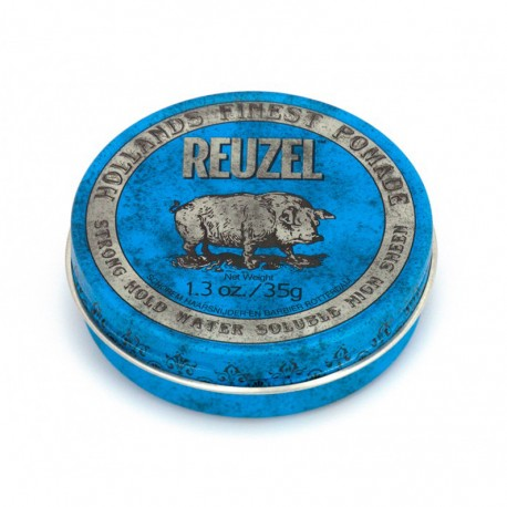 Reuzel Blue Strong Hold Water Soluble - 35g - Pomada para el pelo