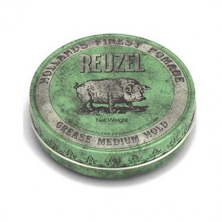 Pomada Verde Reuzel Green Pomade-Grease - 113g