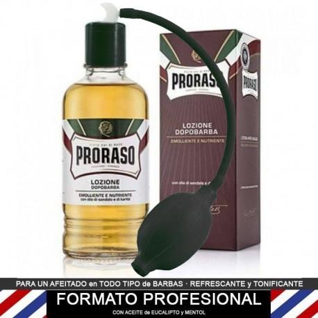 After Shave locion de Proraso PROFESIONAL 400ml