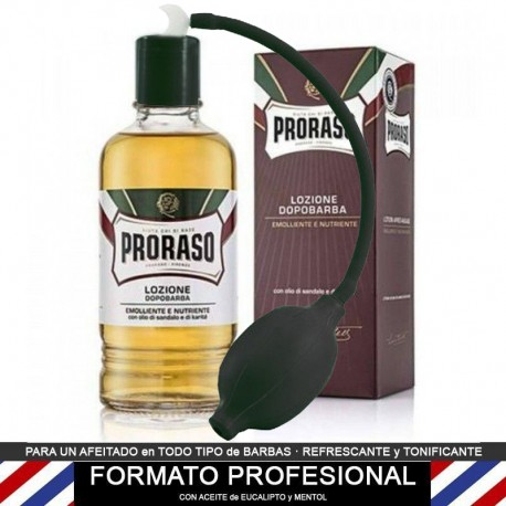 Proraso PROFESSIONAL Sándalo After Shave Lotion 400ml + Spray